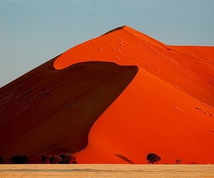 nature, desert, and red image