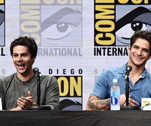 tyler posey, dylan obrien, and o'brosey image