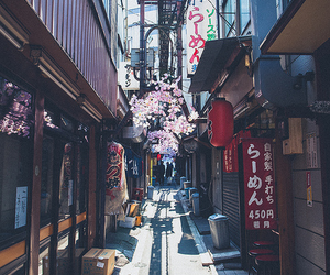 japan, street, and asia image