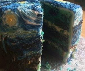 cake, art, and food image