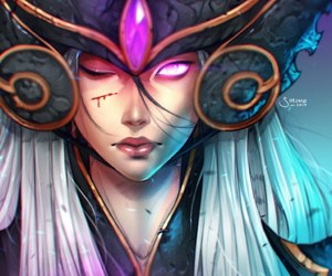 lol, league of legends, and syndra image