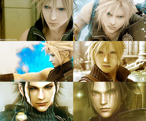 cloud, final fantasy, and ff image