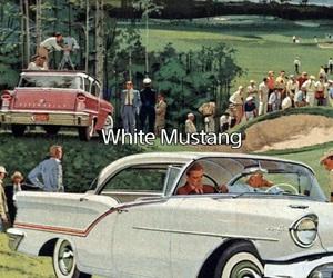 car, lyric, and mustang image