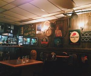 bar, bartender, and book image
