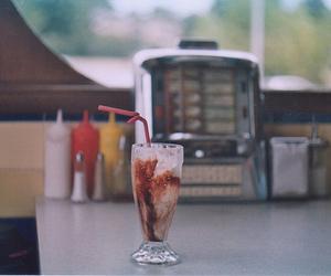 vintage, milkshake, and drink image