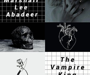 aesthetic, dark, and vampire image