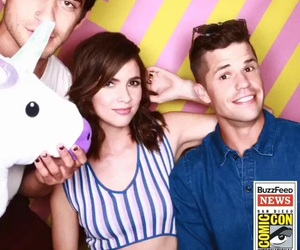 comic con, teen wolf, and tyler posey image