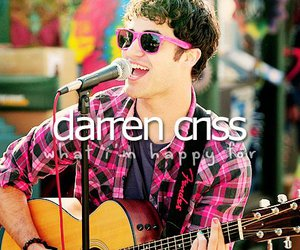 darren criss, boy, and girl image