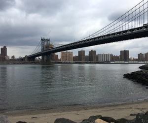 Brooklyn, manhattan, and Manhattan Bridge image