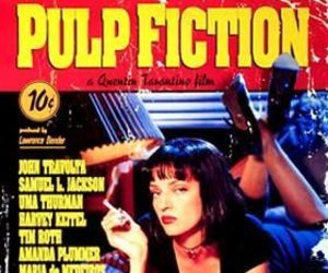 pulp fiction, movie, and uma thurman image