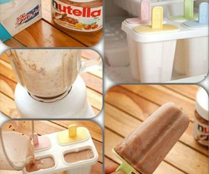 nutella, diy, and food image