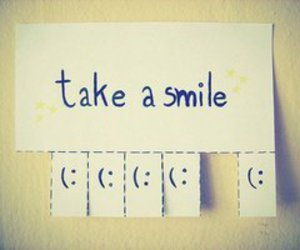 smile and photo image