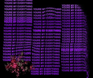 love, purple, and quotes image