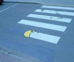 pacman and street art image