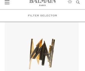 Balmain, bracelet, and jewelry image
