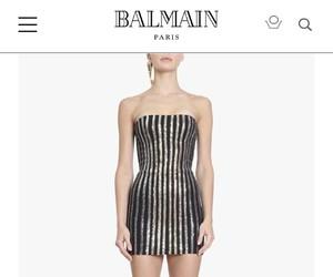 Balmain and dress image