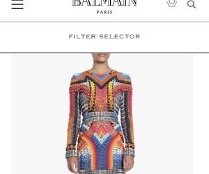 Balmain, beauty, and dress image