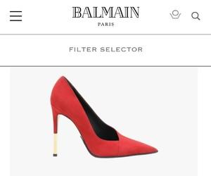 Balmain and shoes image