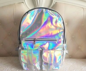 holographic and backpack image