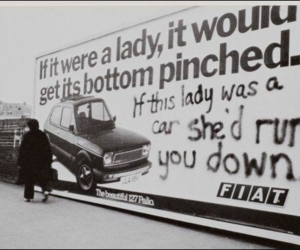 feminism, fiat, and ladys image