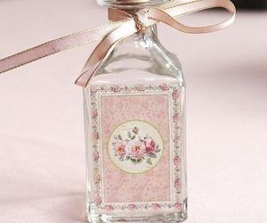 pink, bottle, and vintage image
