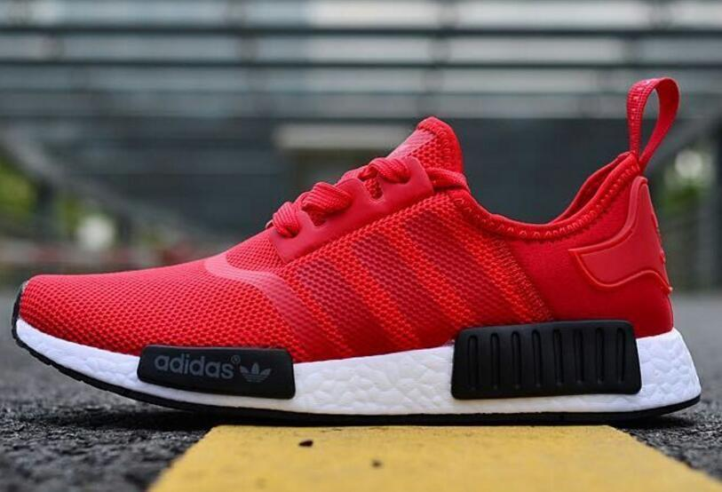 billig Adidas NMD Red Black White R1 Runner Vappn Boost  großer Rabatt