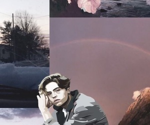 cole, wallpaper, and sprouse image