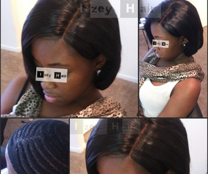 braid, sew-in weave, and braids image