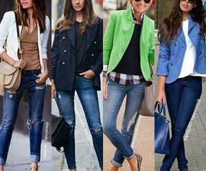 bag, blazer, and bolso image