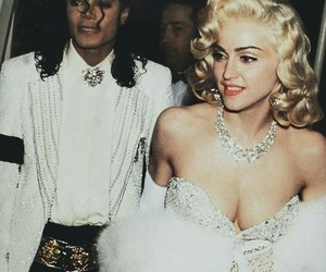 madonna, michael jackson, and mj image