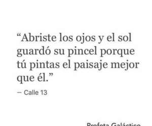 eyes, frases, and calle 13 image