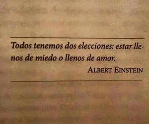 frases, Albert Einstein, and love image