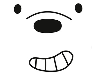 animal, cartoon, and ice bear image
