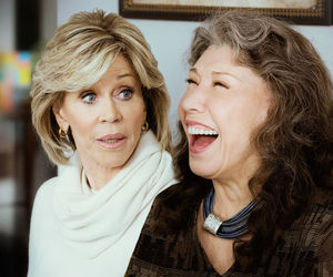 series, netflix, and grace and frankie image