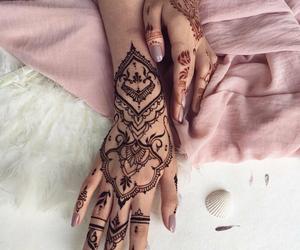 henna, art, and tattoo image