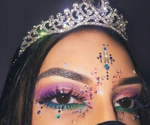 makeup, beauty, and princess image