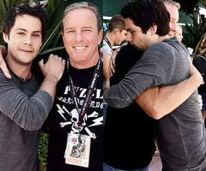 teen wolf, dylan o'brien, and linden ashby image
