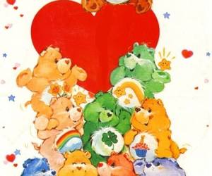 80s, care bears, and colors image