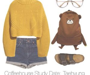 seokjin, rapmonster, and bts inspired outfits image