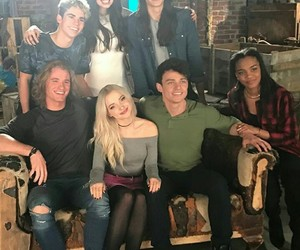 dylan, dove cameron, and booboo stewart image