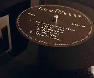 the lumineers, music, and vinyl image