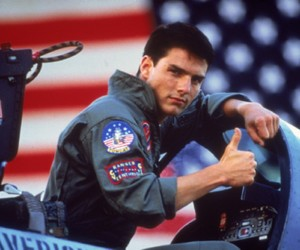 Tom Cruise and top gun image