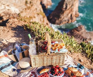 beach, FRUiTS, and nature image
