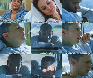 prison break, quotes, and series image
