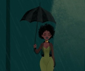 art, beautiful, and black+girl image
