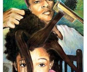 art, blackgirl, and beauty image