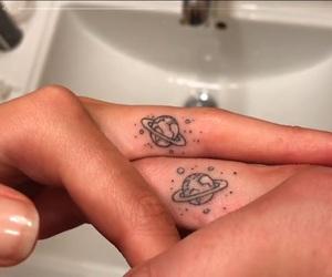 couple, tattoo, and couple tattoo image