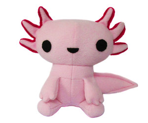 adorable, axolotl, and etsy image