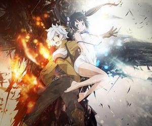 anime and danmachi image