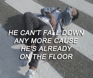 cool, down, and floor image